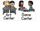 Center Signs for Pre-K - 2nd (Multicultural)