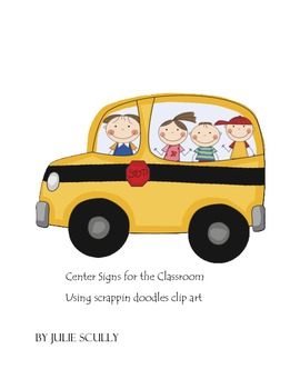 Center Signs for the Classroom