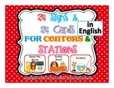 Center Signs- in English