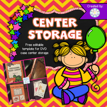 Editable Storage Template - DVD Cases - FREE