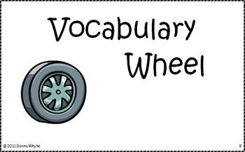 Center Task Cards - Vocabulary