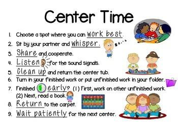Center Time Procedures