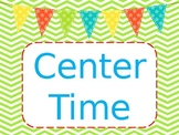 Center Time labels