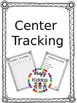 Center Tracking