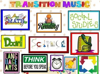 Center Transition Music, make an easy transition with music Nautical Themed