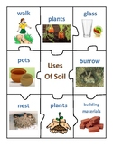 USES OF ROCKS, SOIL, AND WATER - CENTER