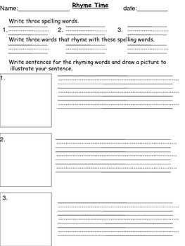 Center Worksheets / Activities