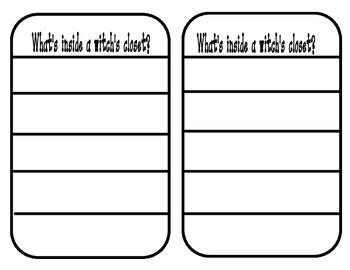Center Writing ~ Writing Lists