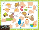 Center and Activity Instructions Clip Art