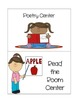 Center and Pocket Chart Signs