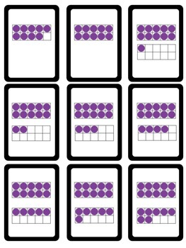 Center in a Minute {Early Numeracy}: Counting Using Ten Frames
