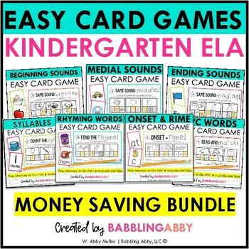 Center in a Minute {Kindergarten}: BUNDLE