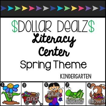 PrePrimer & Primer Dolch Write the Room Spring Center