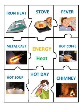 Center of Energy: Light, Sound & Heat