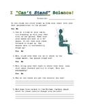 Center of Mass Guide Sheet