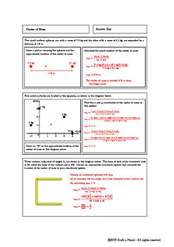 Center of Mass Homework
