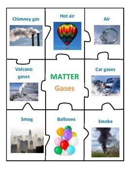 Center of Matter - Solids, Liquids, Gases