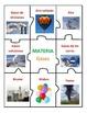 Center of Matter in Spanish - Solids, Liquids, Gases