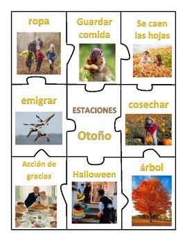 Center of SEASONS of The Year - Spanish!!