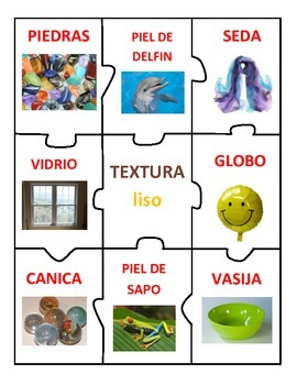 Centro de TEXTURA: Rugoso, Suave, liso, Duro & Granoso