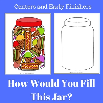 Free Art Activity - How Would you Fill This Jar?
