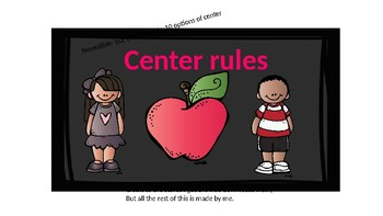 Center rules