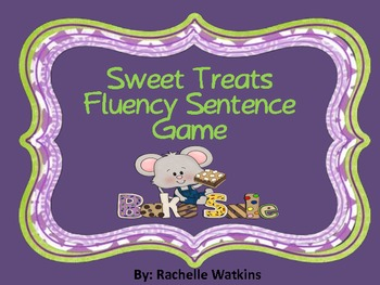 Center to build fluency while reading sentences
