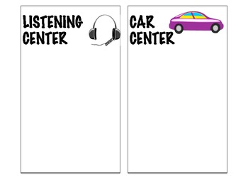 Center/Station Tags