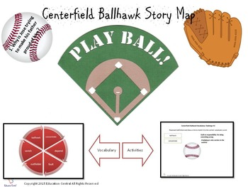 Centerfield Ballhawk Comprehension Activities and Games