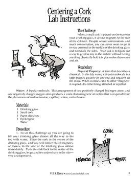 Centering a Cork (Chemistry)