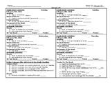 Centers Accountability Sheet