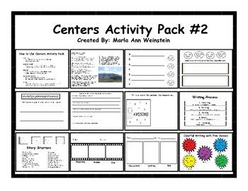 Centers Activity Pack #2