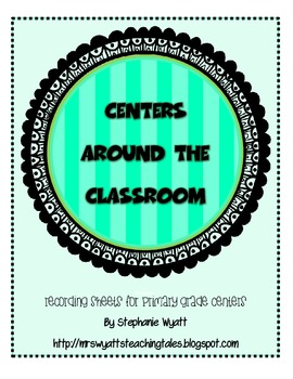 Centers Around The Classroom