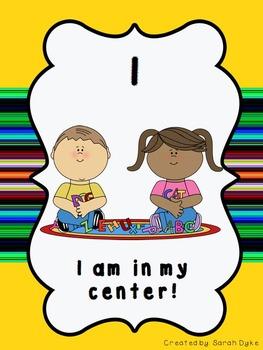 Centers Behavior Self-Check