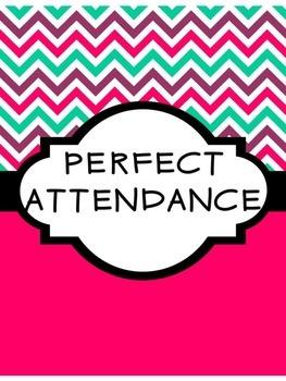 Perfect Attendance Freebie