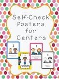 Centers Behavior Self-Check Spanish