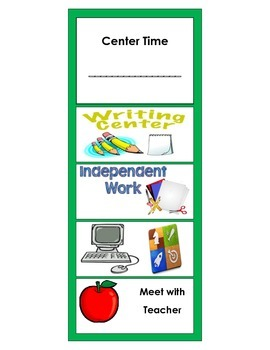 Centers Bookmarks