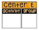 Centers Bulletin Board Set