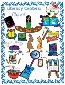 Centers Labels AND Clipart