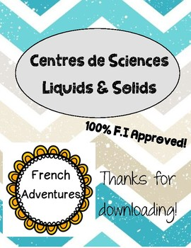 Centers: Liquids and Solids