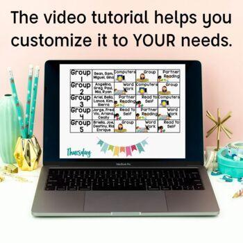 Centers Rotation Management Powerpoint {Editable}