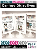 Centers Objectives Signs {{EDITABLE}}