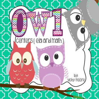 Owl Themed Centers