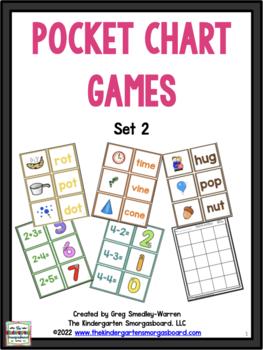 Centers! Pocket Chart Concentration Games SET 2!