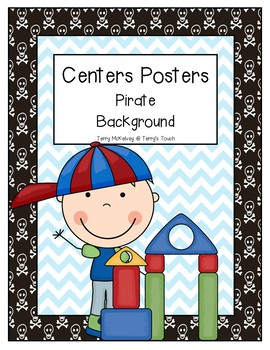 Centers Posters Pirate Background