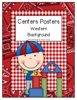 Centers Posters Western Background