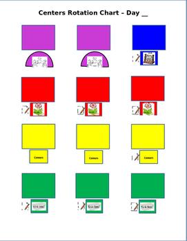 Centers Rotation Chart