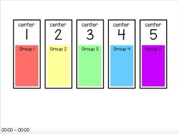Centers Rotation Chart (editable)