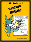 Centers Rubric - The Original (with mini-rubrics)