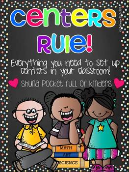 Centers Rule! {Setting up and Managing Centers Black Version}